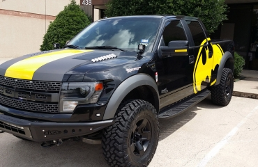 Batman Truck Wrap