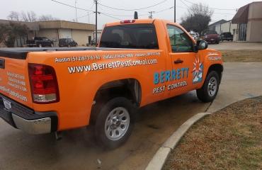Berrett Pest Control Truck