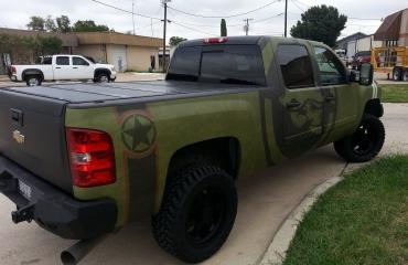 Camo Truck