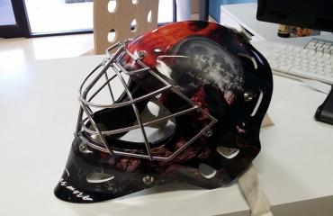 Edgar Allen Poe Helmet