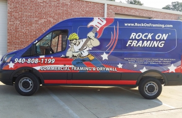 Rock On Framing Van
