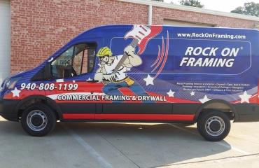 Rock On Framing Van