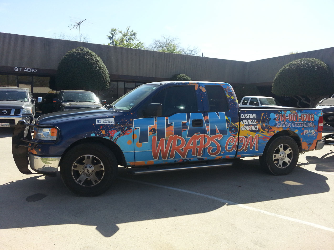 Trailer Wraps, Car Graphics from Titan Wraps in Carrollton