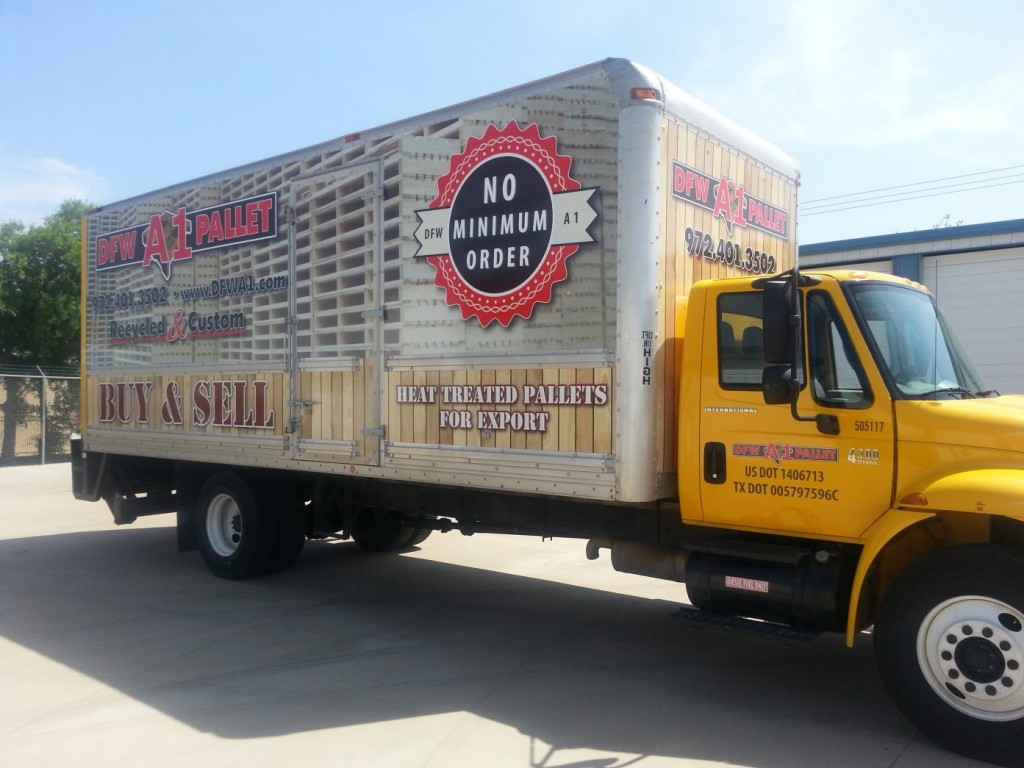 Trailer Wraps in Frisco, TX, Dallas, TX, DFW, Plano, TX, Carrollton, TX