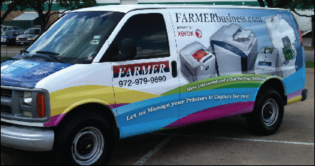 Van Wraps in Dallas TX, DFW, Carollton TX