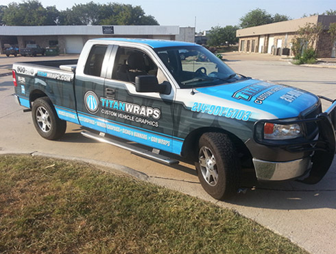 Truck Graphics and Truck Wraps in Carrollton TX, Dallas TX, DFW, Frisco, Plano TX