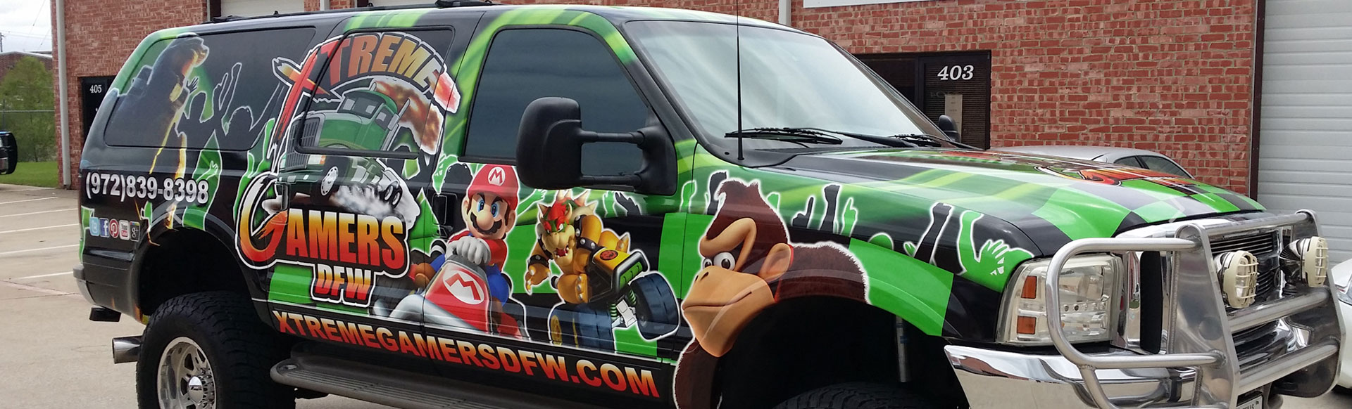 Truck Wraps and Truck Graphics in Plano TX, Carrollton TX, Dallas TX, DFW