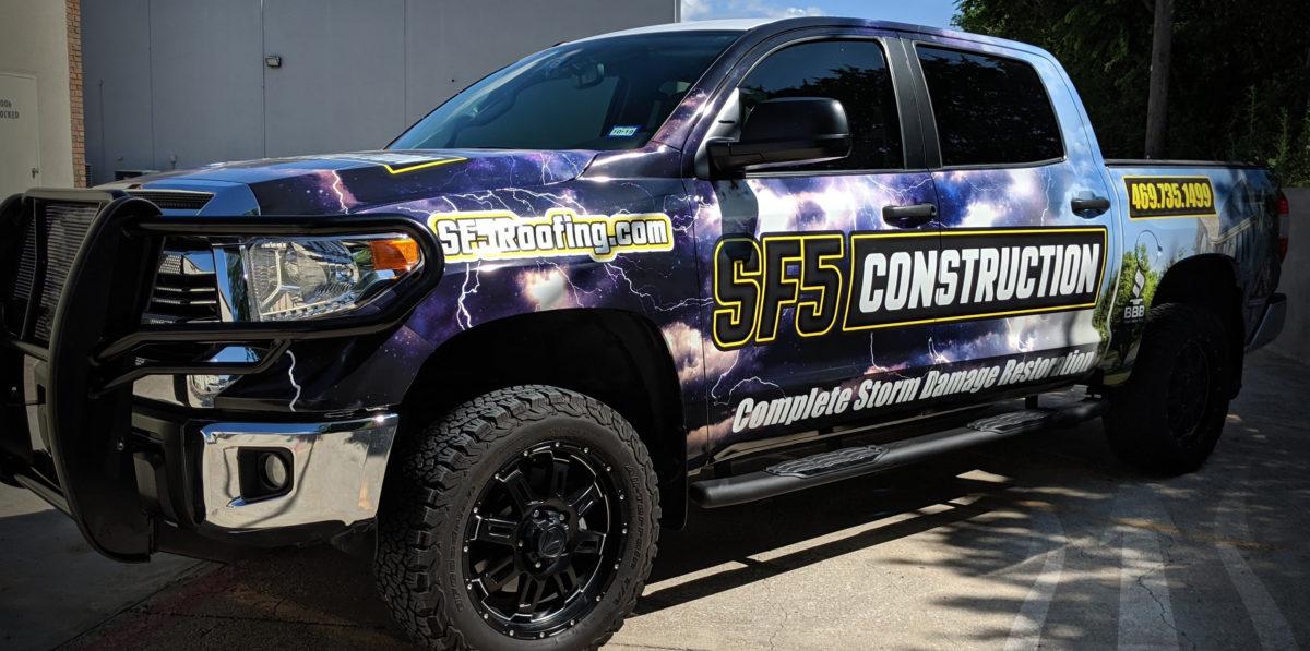 Vehicle Wraps in Frisco TX, DFW, Dallas, TX