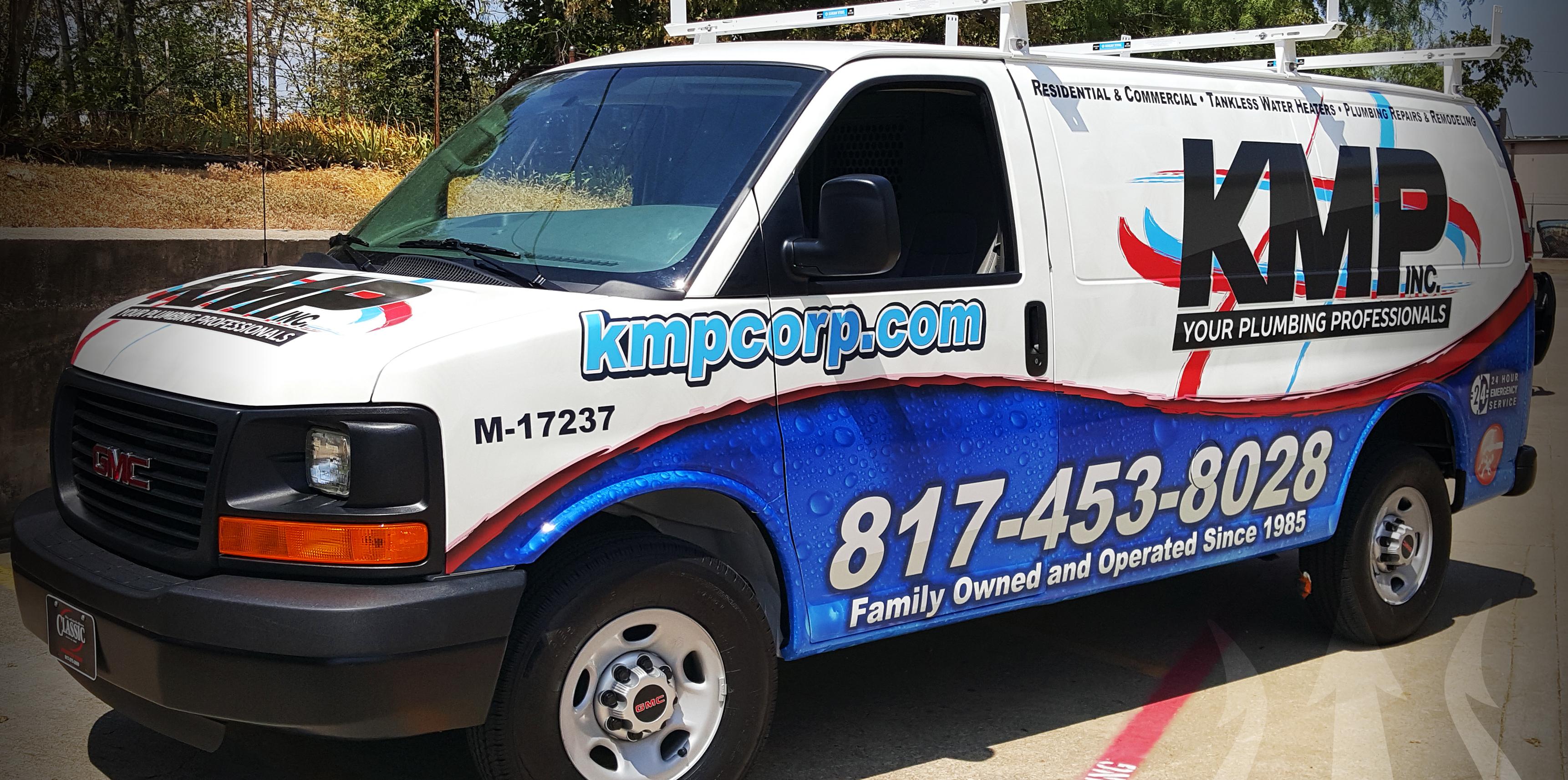Van Wraps in Dallas TX, DFW, Frisco TX, Plano TX, Carrollton TX